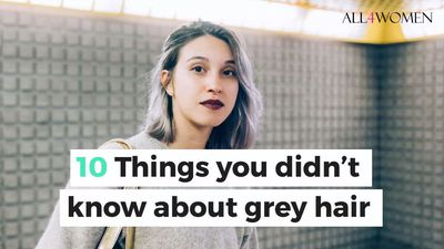 10 Things you didn't know about grey hair