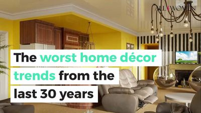 The worst home decor trends from the last 30 years