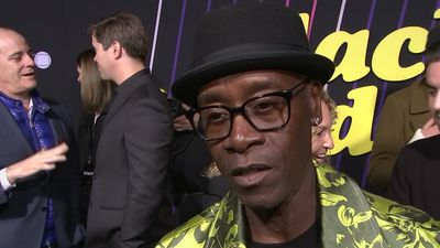 Cheadle: working with Rogen was 'bananas'