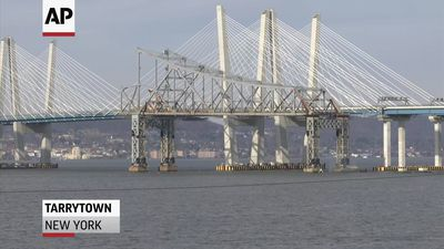 Tappan Zee bridge goes BOOM!
