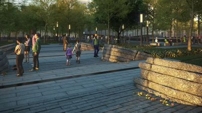 9/11 rescue and cleanup worker tribute takes shape