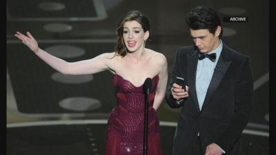 Hathaway: Oscar hosting is 'so much work'