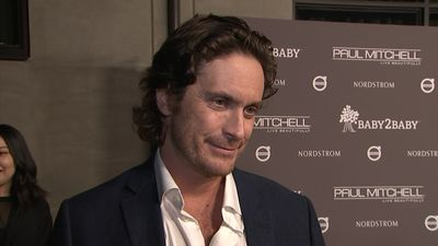 My First Award: Oliver Hudson