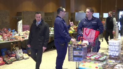 Food pantry busy with unpaid Coast Guard members