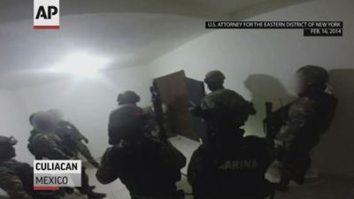 El Chapo trial: govt. shows escape tunnel video