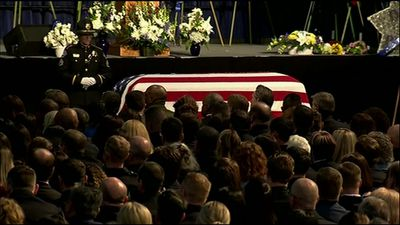 Funeral held for rookie officer killed in shooting