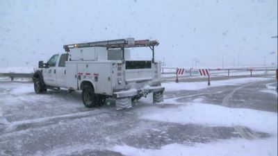 Blowing snow forces Colorado highway closures
