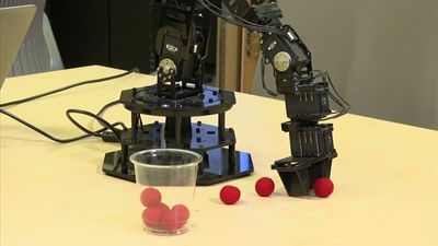 Scientists create self-aware robot