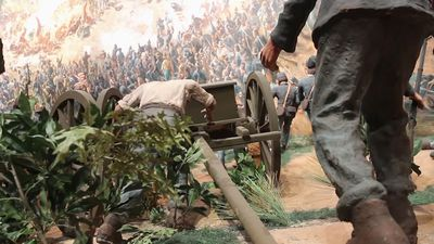 Enormous painting depicts Battle of Atlanta
