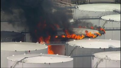 Fire at Houston-area petrochemicals terminal
