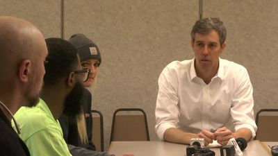 O'Rourke visits Michigan a year before primary