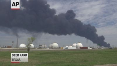 No end in sight for fire at Texas chemical plant