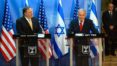 Pompeo visit gives a boost to Israel PM