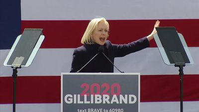 Sen. Kirsten Gillibrand kicks off presidential run