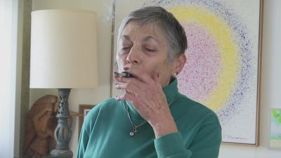 Senior citizens high on legal marijuana