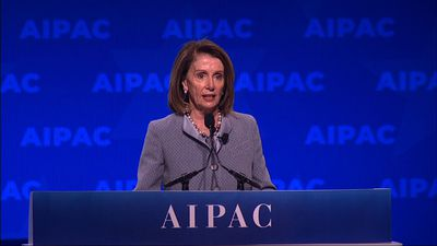 Pelosi: Won't allow Israel to become a wedge issue