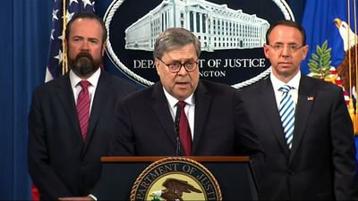 Before Mueller report released, Barr gets his say