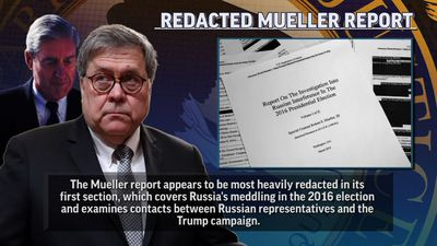 DOJ releases special counsel Mueller's report