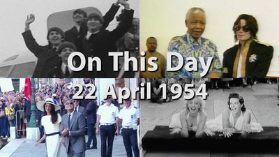 On This Day 22 April 1954