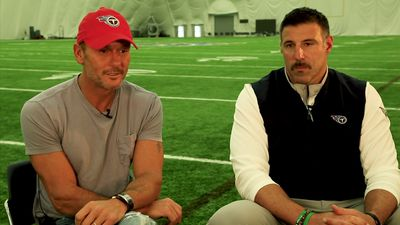 Tim McGraw, Mike Vrabel prep for NFL Draft
