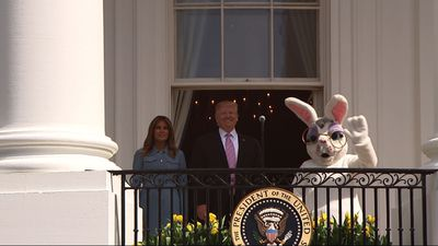 White House celebrates Easter Egg roll