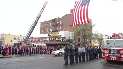 FDNY Marine Killed in Afghanistan honored
