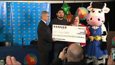 24-year-old Wisc. man wins $763 million lottery