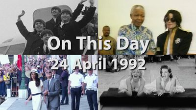 On This Day: 24 April 1992