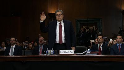 Barr defends actions on Mueller report to Senate