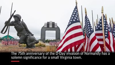 Va. town remembers the high price paid on D-Day