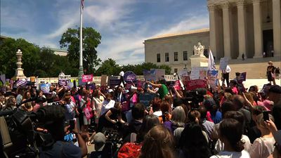 Rally at Supreme Court to stop abortion bans