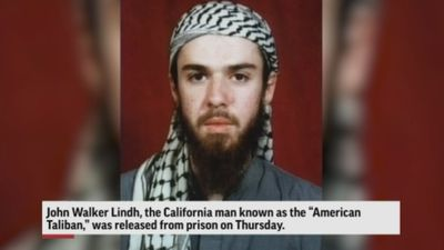 'American Taliban' released from prison