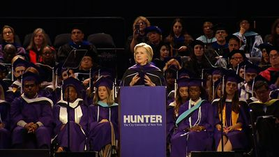 Clinton: 'No time for apathy, time for action'