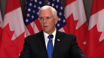 Pence in Canada to build momentum for trade deal