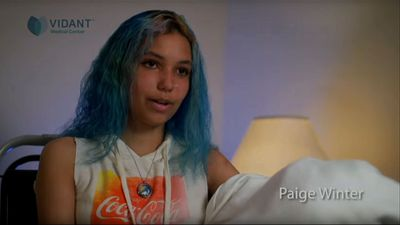 N.C. teen shark attack victim upbeat about future