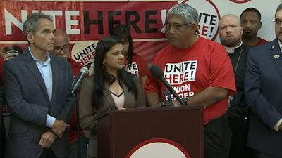 Immigrants who worked for Trump speak in Fla.