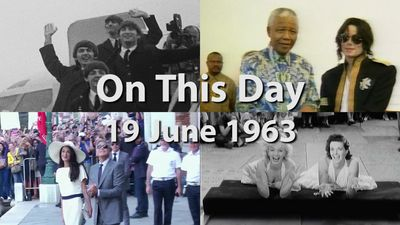 On This Day: 19 June 1963