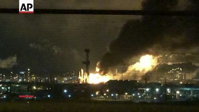 Massive explosion at Philly plant