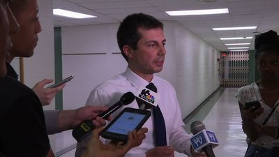 Angry residents confront Buttigieg at town hall