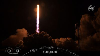 SpaceX launches hefty rocket with 24 satellites