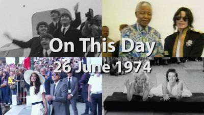 On This Day: 26 June 1974