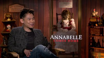 'Annabelle Comes Home' to a blessing on set