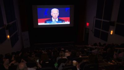 Viewers in four states review the debate