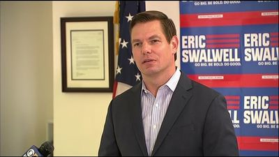Rep. Eric Swalwell drops out of presidential race