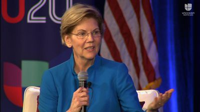 Warren on Trump: 'He's going to follow the law?'