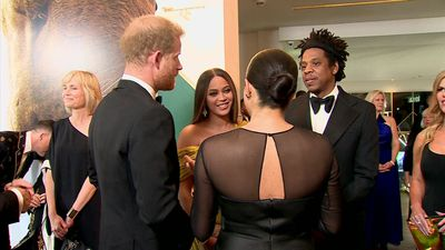 When music royalty met British royalty