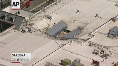 Calif. casino roof collapses, no major injuries