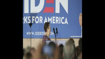 Biden talks policies at Iowa campaign event