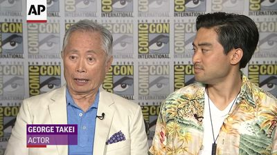 Takei went back to childhood with new series 'The Terror: Infamy'