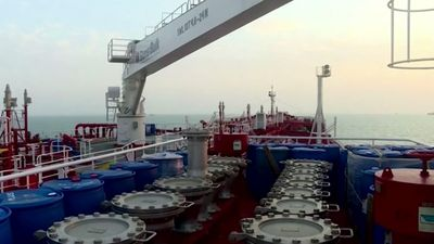 Iran releases video of seized oil tanker
